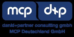 Logo dankl+partner consulting und MCP Deutschland, Ihr Partner für Instandhaltung, Asset Management und Engineering